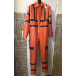 Hi Vis boiler suit
